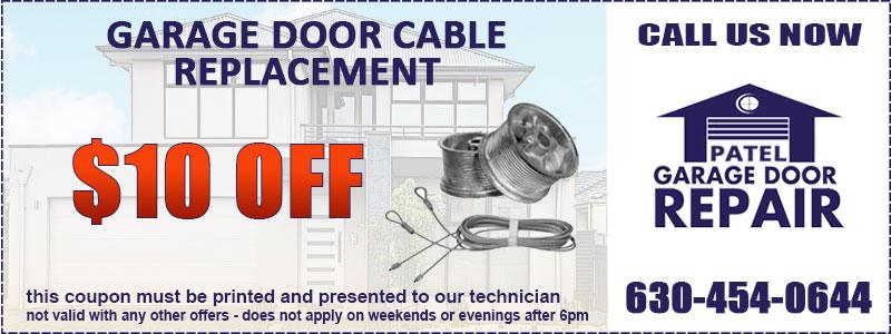 Garage Door Cable Coupon
