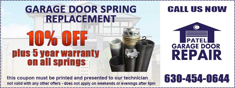 Garage Door Spring Coupon