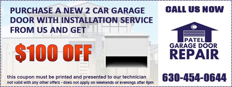Garage Door Installation Special